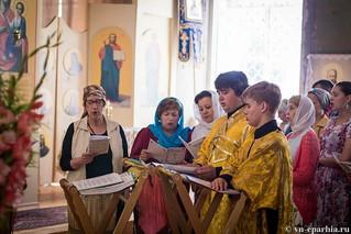 Литургия в Ильинском соборе 220