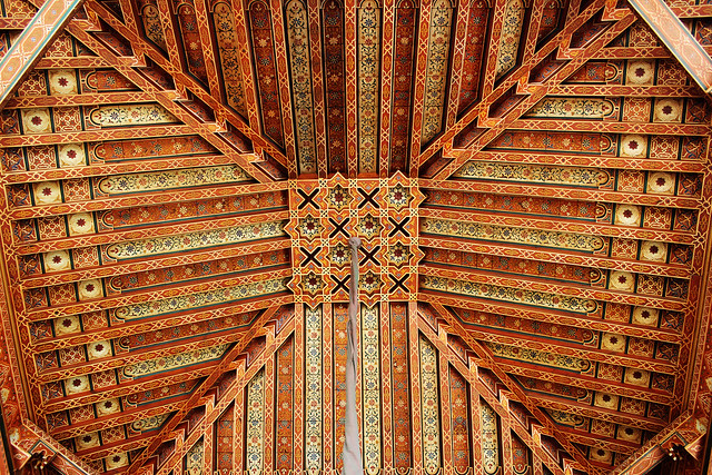 La mamounia ceiling