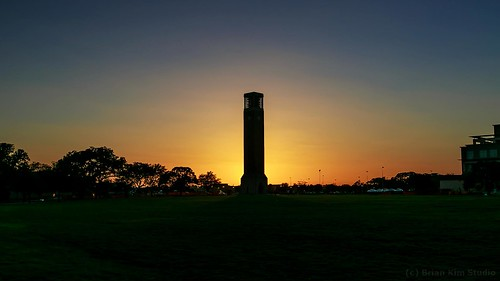 sunset aggie collegestation tamu texasamuniversity texassunset 1635mmf28lii albrittonbelltower