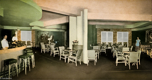 bar mississippi restaurant post architect card 1950s 1978 biloxi demolished built 1927 beachboulevard mississippidepartmentofarchivesandhistory mdah hotelbiloxi hotelmacarthur irahcoyne creoleroom