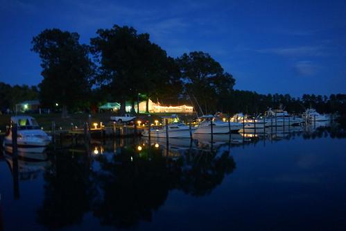 Waterman's Creekside Restaurant, Dennis Point Marina