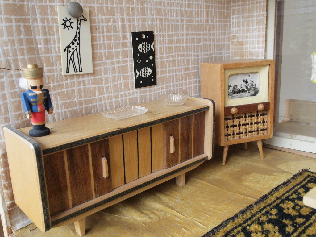 1950s Edmund Muller Furniture Diepuppenstubensammlerin Blo Flickr