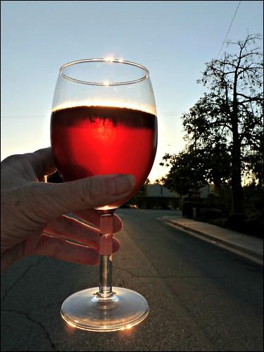 street macro tree glass sunrise hand wineglass odc1