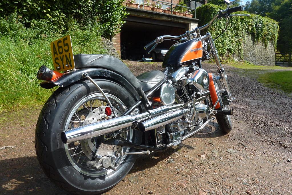 Harley Davidson Shovelhead FXE 80 (Late 1982 model)   Flickr