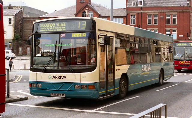 Arriva Merseyside 5310 (P310HEM)
