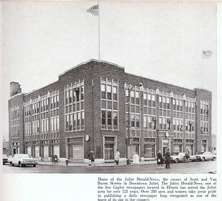 Herald-News building, Joliet, IL | The former home of The He