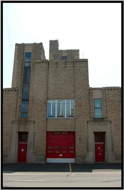 Rochester NY ~ Supply ~ Rochester Fire Department Headquarters and Shops