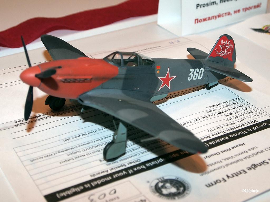 120810_050_IPMSusaYak3 | Yakovlev Yak-3 - International Plas