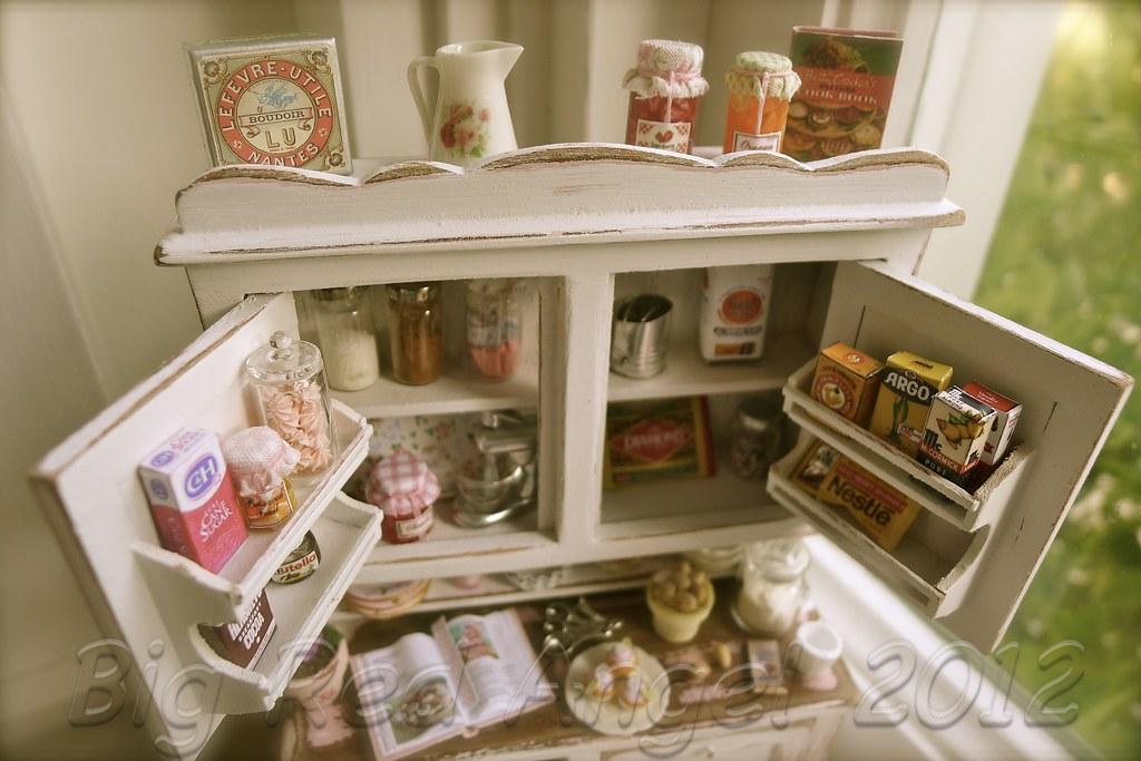 Clara S Kitchen Hutch I Am Crazy For The Tiny Shelves Flickr