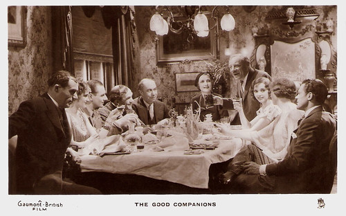 A.W. Baskcomb, John Gielgud, Jessie Matthews, The Good Companions