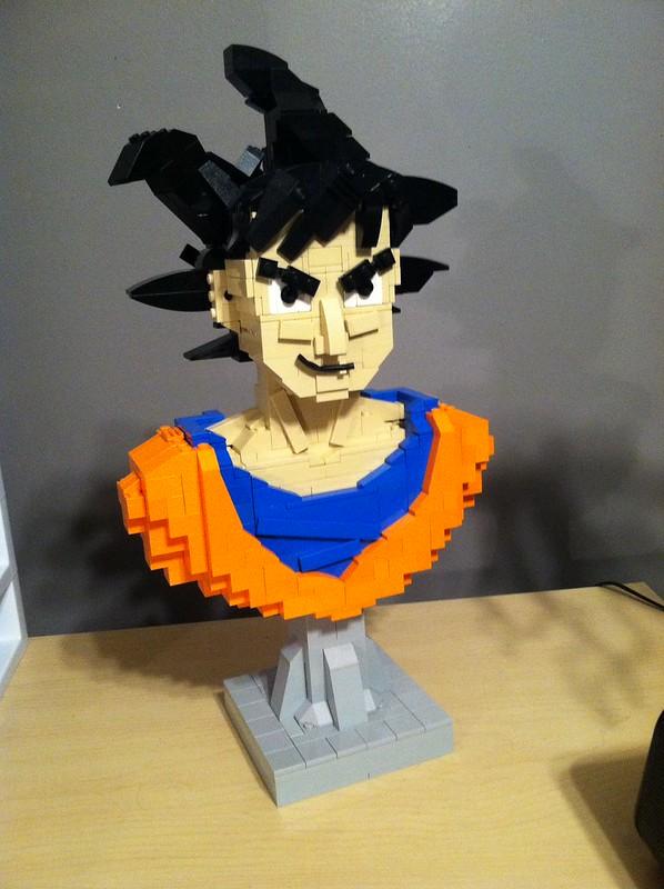 Long lost Goku bust