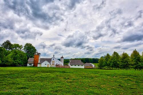"ponyfarm september 52in2016 week35 ""theme landscapeview hdr aurora farm bucks county new hope rt202 clouds silo pa buckingham"