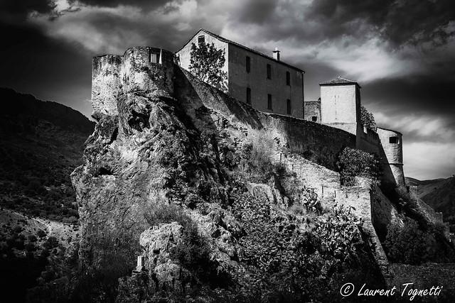 La citadelle de Corté (Corse)