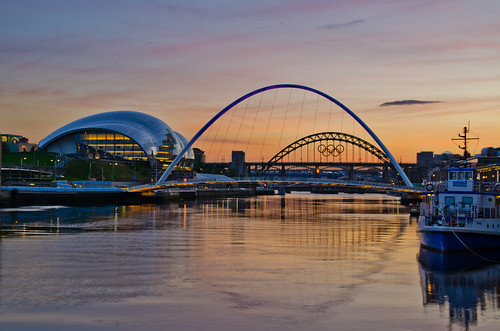 sunset summer river newcastle nikon tyne gateshead pd1001 d7000 pauldowning pauldowningphotography