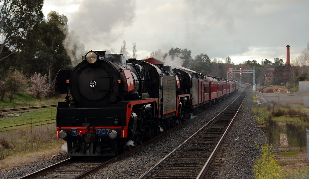 Arriving at Castlemaine by Benjamin Murch