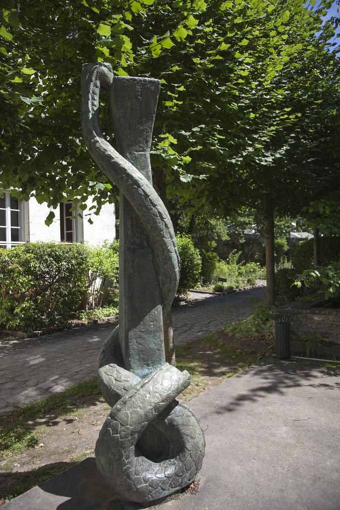 Musee Et Jardin Maurice Denis Cree Par Le Conseil General Flickr
