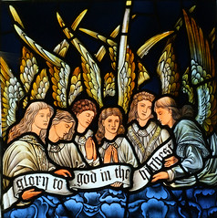 angelic host by Burne-Jones