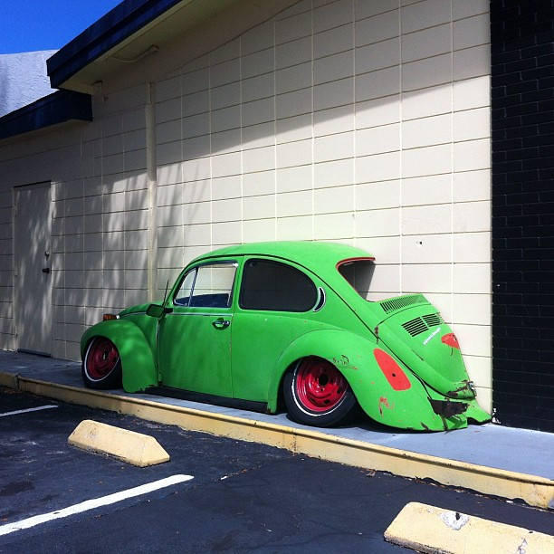 Half Fast VW Bug | Michael Levin | Flickr