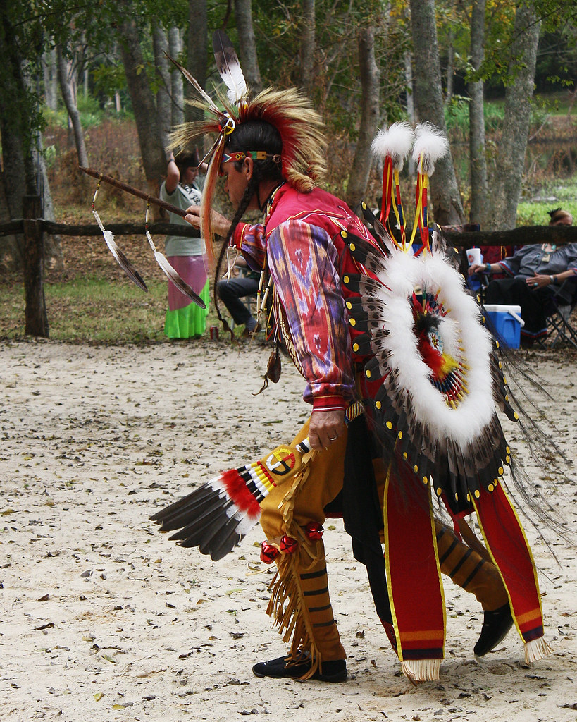 Indian Dancer 15th Annual Echota Cherokee Tribe of Alabama… | Flickr