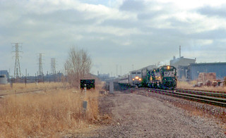 20011207 01 NS & Amtrak Whiting Indiana