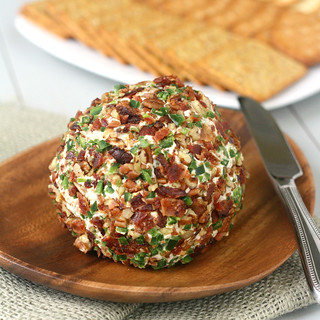 Bacon-Jalapeño Cheese Ball | by Tracey's Culinary Adventures