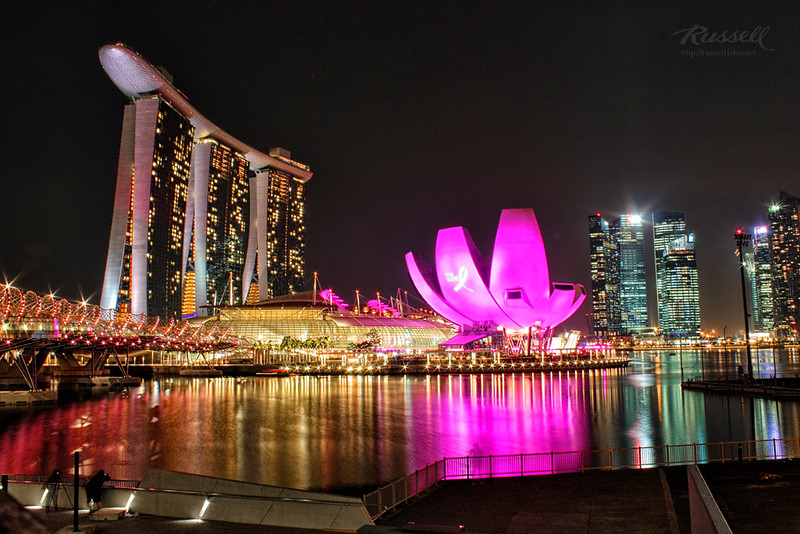 Singapore Night Shot: Marina Bay Sands