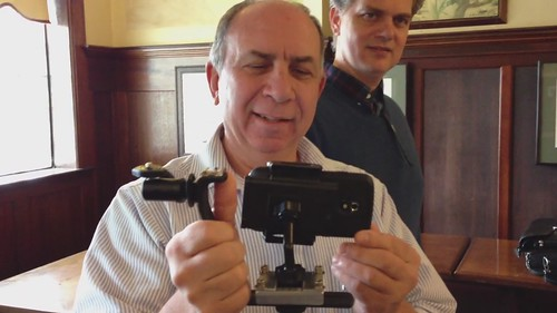 Bruce Garber Shows His Custom Android Phone Mount