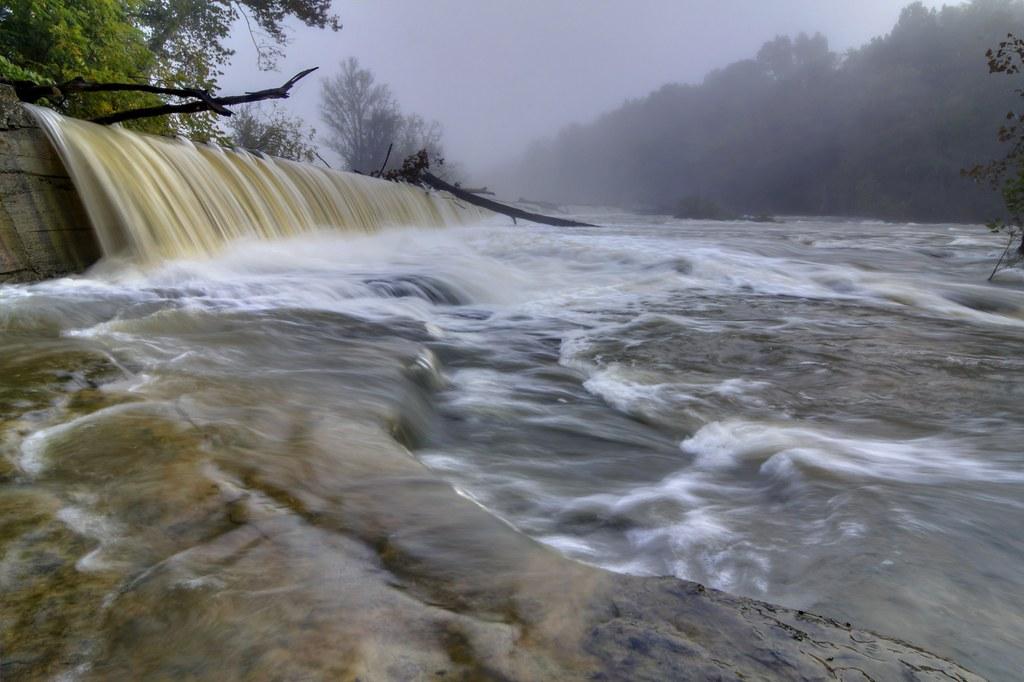 Dam on Calfkiller River 2, White Co, TN