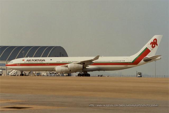 """Airbus, A340-312, CS-TOB, """"TAP Air Portugal"""", VMMC, Macau"""