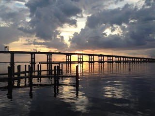 Fort Myers River District at Sunset   by Erin *~*~*