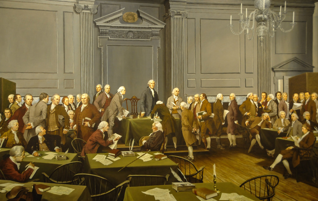 Image result for the signing of the us constitution
