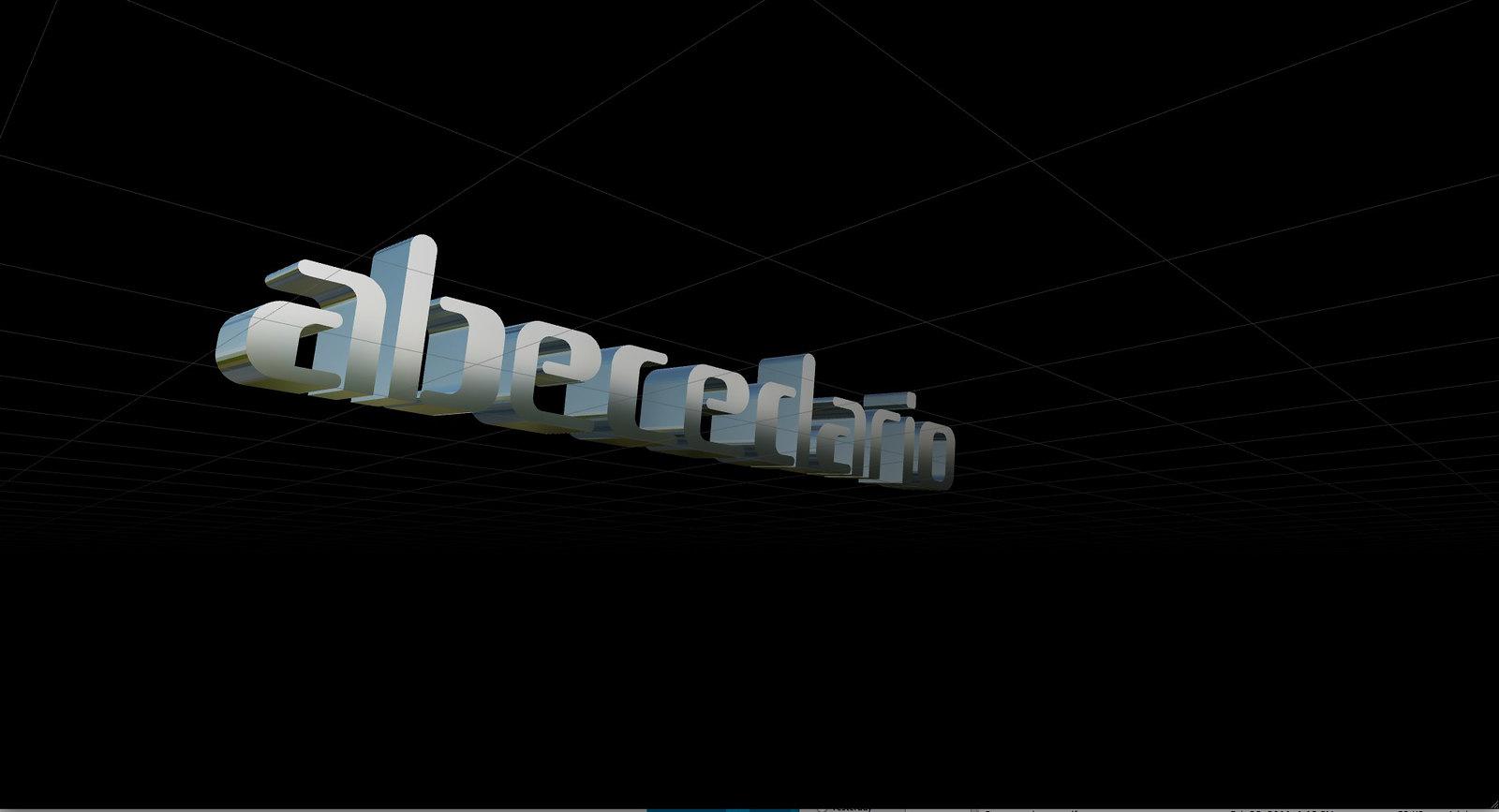 """Gramapoética 3D """"ABECEDARIO"""""""