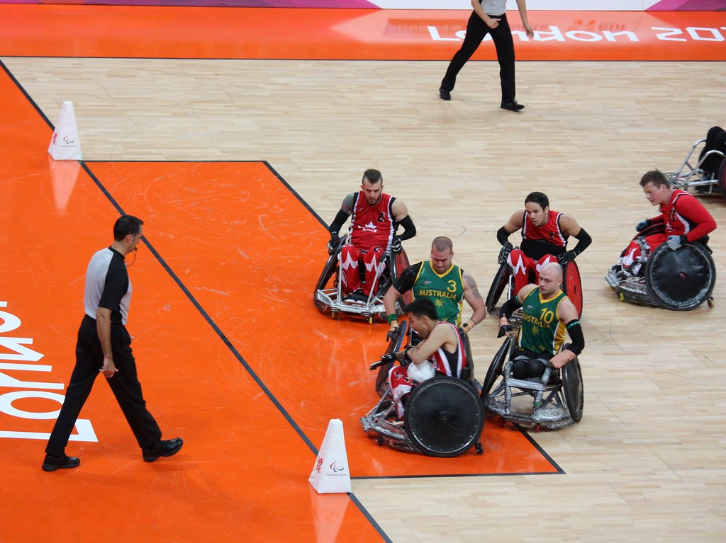 London 2012 Paralympics Wheelchair Rugby (Murderball)