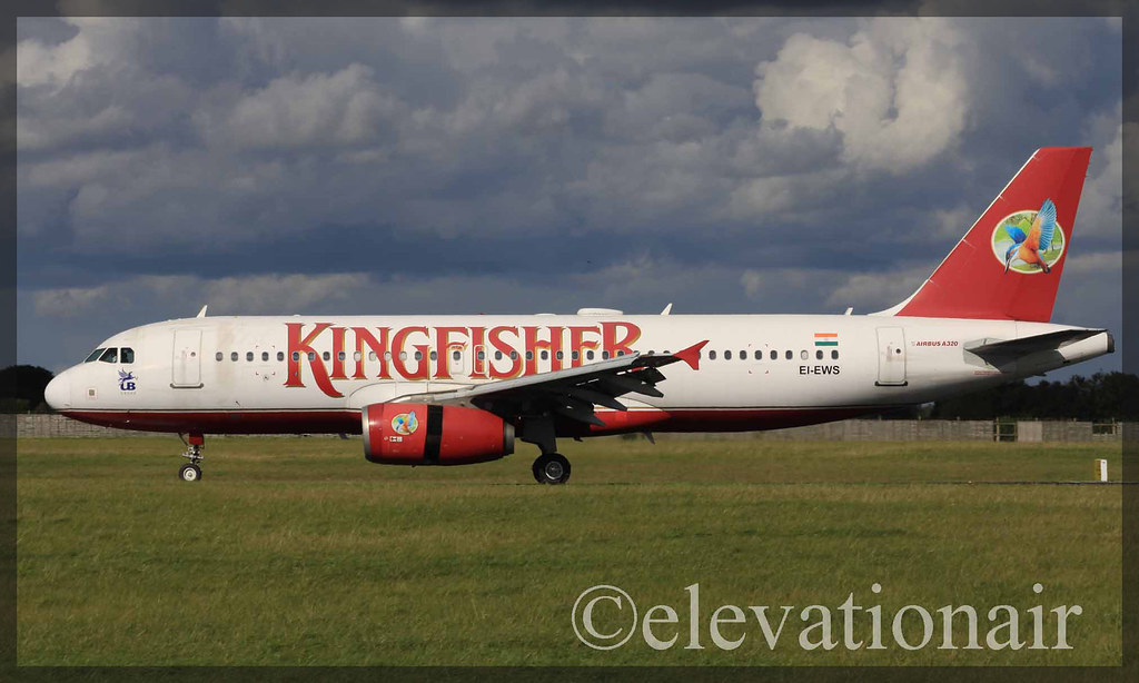 EI-EWS Airbus A320-232 Kingfisher Airlines