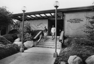 Thille Botanical Laboratories, built in 1976 and torn down in 2003 make room for the new Seaver Biology Laboratory