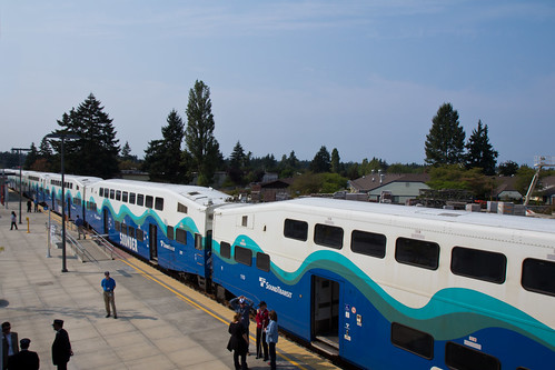 Sounder at Lakewood Station