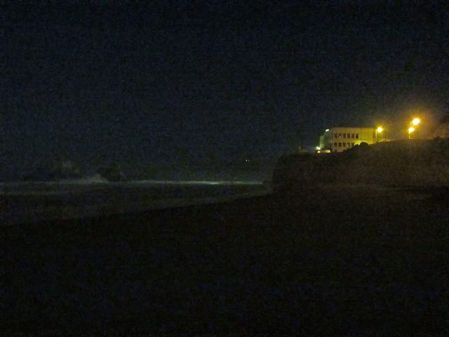 Ocean Beach at night; San Francisco, CA