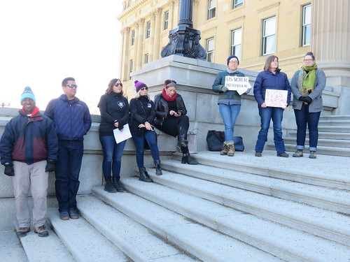March For Our Lives - Edmonton Solidarity Event | by livingsanctuary