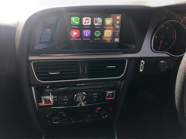 Audi A5 2010 installed with Alpine X701D-A4R for Apple Car… | Flickr
