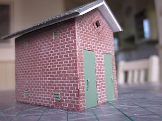 Schakelstation NS in model | by Leen Kievit