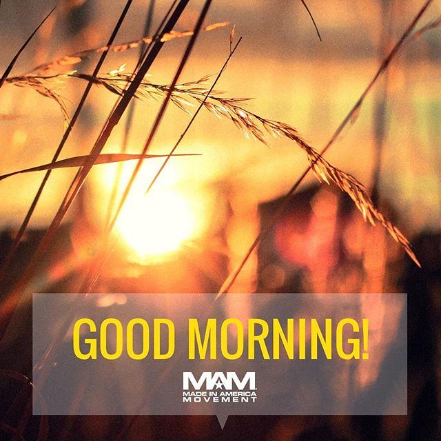Good Morning America! Get Up. Get Dressed. Get Moving! #go