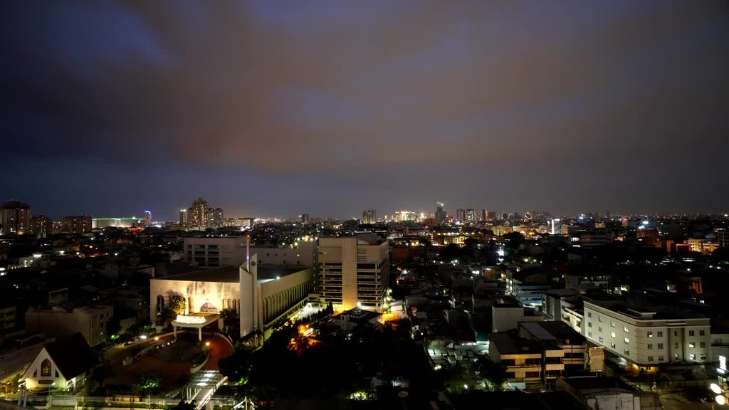 Night Timelapse of Glodok, West Jakarta