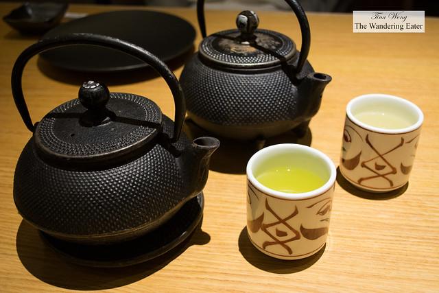 Different green teas