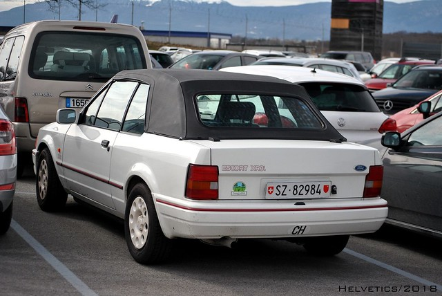 Ford Escort Cabriolet - Switzerland, Schwyz