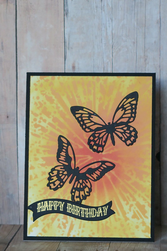 Sister Butterfly Birthday