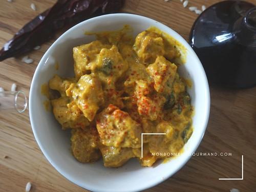 curry d'gneau au potimarron | by Mon bonheur gourmand