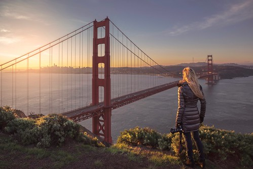Sunrise at the Golden Gate Bridge | by ks_pics