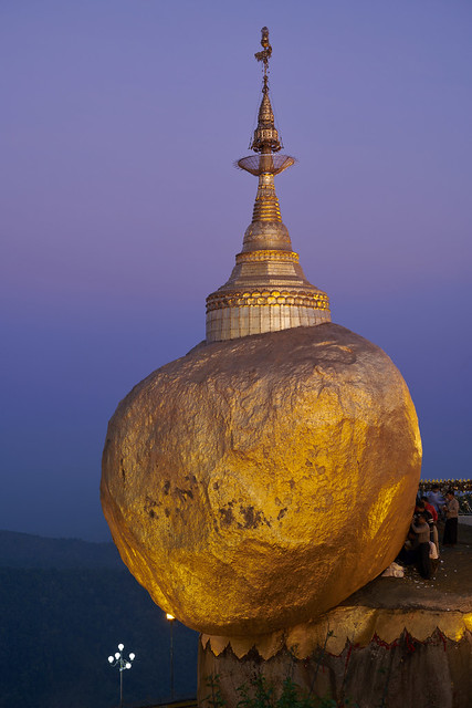 Le Rocher d'Or #1 [ Birmanie (Myanmar) ]