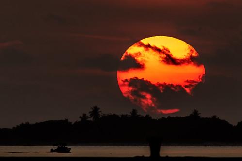 adducity southprovince malediven sonnenaufgang sunset sunrise