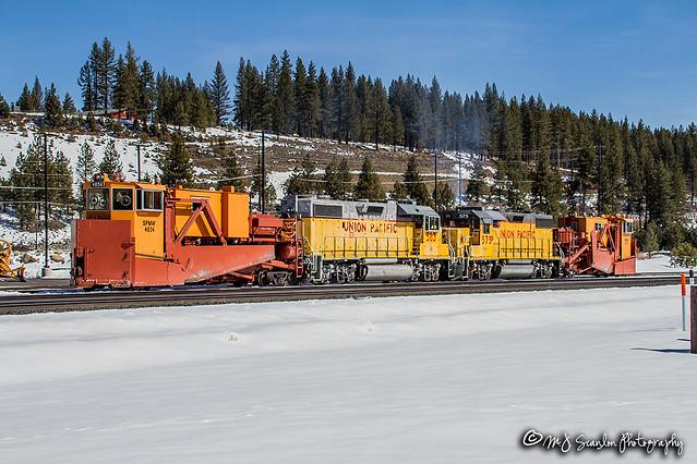 SPMW 4034 | Snow Plow | UP Roseville Subdivision